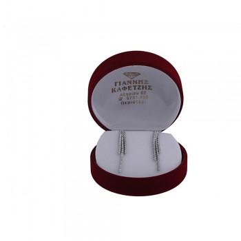 Σκουλαρίκια Κ14 με ζιργκόν