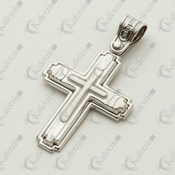 Ανδρικός σταυρός Λευκός